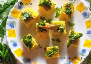 Recipe of Khaman Dhokla-Dhokla Recipe step by step