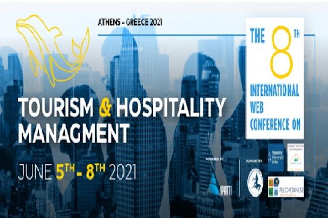 Τουριστικός Οργανισμός Πελοποννήσου: 8ο Διεθνές Συνέδριο για την Διοίκηση Τουρισμού και Επιχειρήσεων Φιλοξενίας