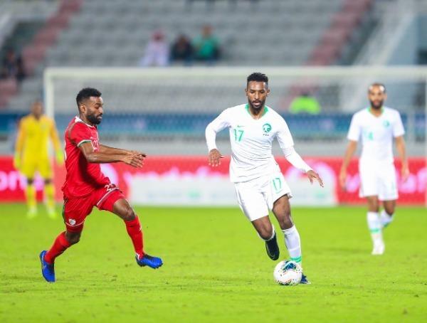 تعرف على موعد مباراة السعودية أمام عمان والقنوات الناقلة لها