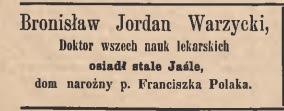 Jasło 1884