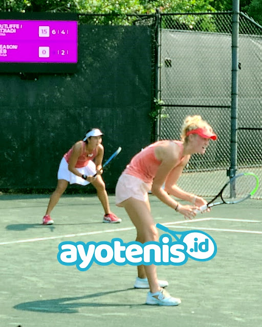 Aldila dan Erin Melesat ke Final WTA Charleston