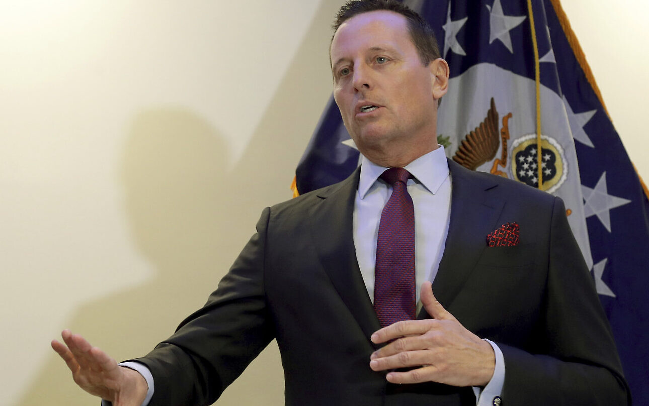 Trump Picks Loyalist Richard Grenell To Lead National Intelligence