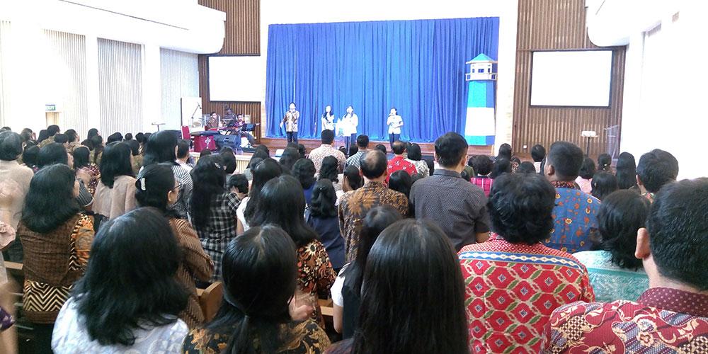 SKKK Surakarta Gelar Ibadah Awal Tahun Pelajaran 2018/2019