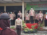 Pjs Bupati Lamsel Pimpin Upacara Peringatan Sumpah Pemuda Kwarcab Gerakan Pramuka