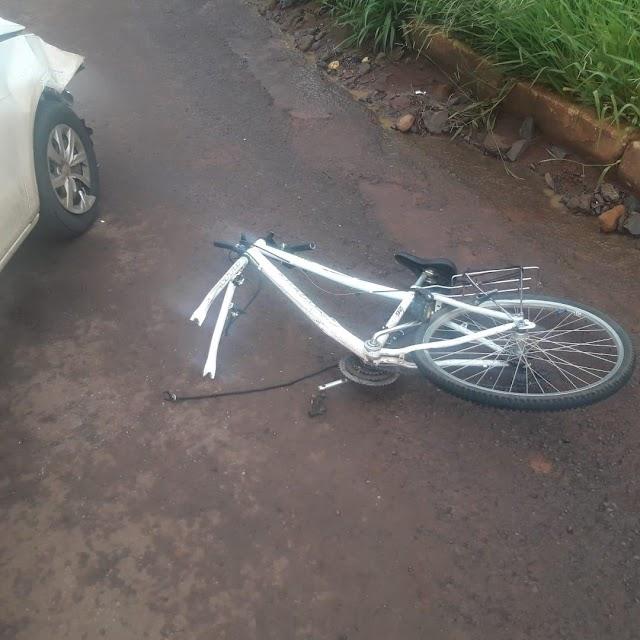 Ciclista morre após acidente em Pitanga