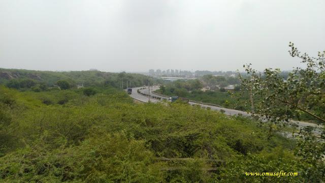 faridabad gurgaon road in aravali