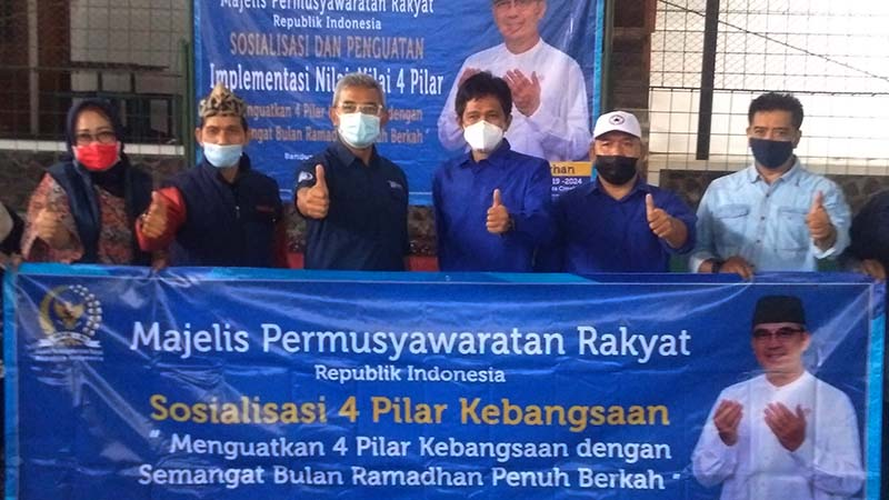 Sambut Bulan Ramadhan, HM Farhan Gelar Sosialisasi 4 Pilar