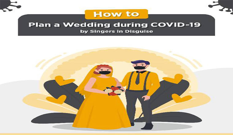 How to Plan your Wedding During the Pandemic #infographic
