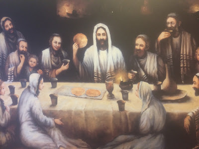 Last Supper by Bohdan Piasecki. Detail