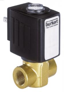 Burkert Type 6240 Servo-assisted 2/2 Way Piston Valve