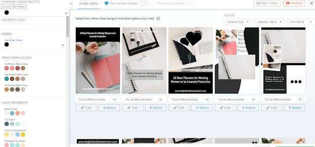 Pinterest graphics,blog traffic tips
