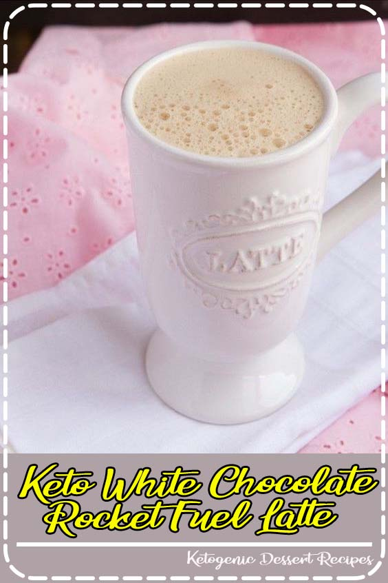 upgrade to the classic keto butter coffee Keto White Chocolate Rocket Fuel Latte