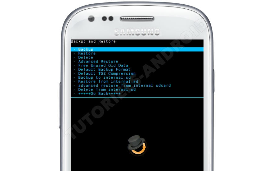 CWM recovery pour GALAXY S3 Mini