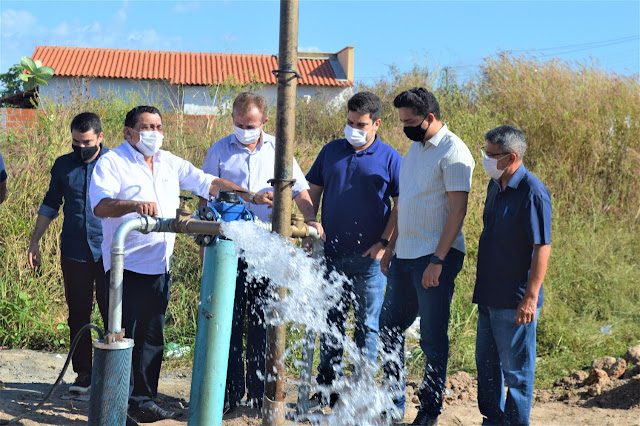 SAAE aciona novo poço com 800 mil litros de água por dia para o Cidade Nova
