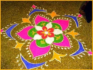 Diwali Rangoli Patterns 2013