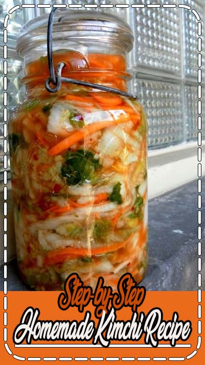 Step-by-step instructions for making your own homemade Kimchi!
