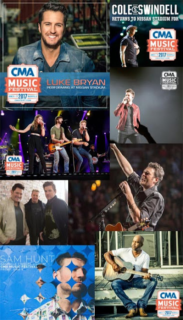 2017 cma fest nissan stadium lineup sneak peek 2018 cma fest individual artists started leaking that they will be playing nissan stadium during the 2017 cma music festival sam hunt led the way last night on twitter m4hsunfo