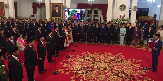 Ini Daftar Sementara Harta Kekayaan Para Menteri Jokowi-Maruf Amien