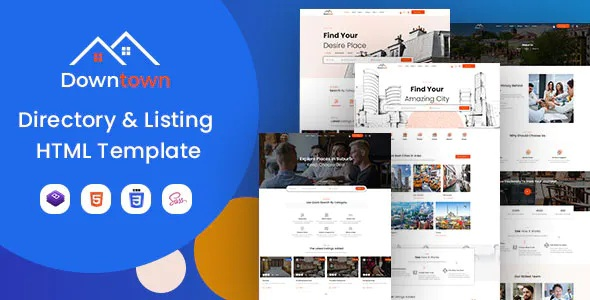 Download Directory & Listing HTML Template