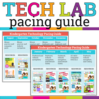Kindergarten Tech Lab Pacing