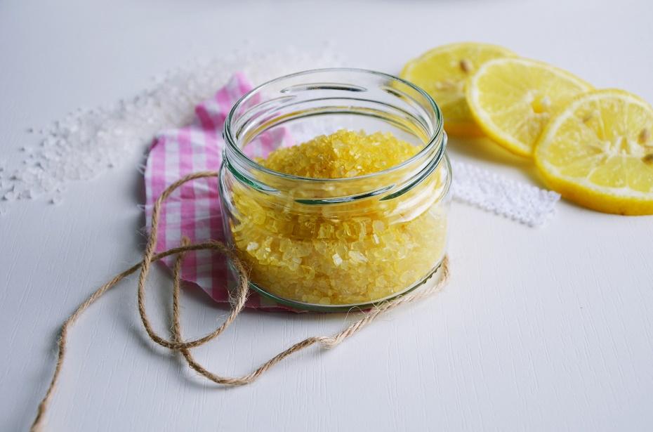 cytrynowa sól do kąpieli