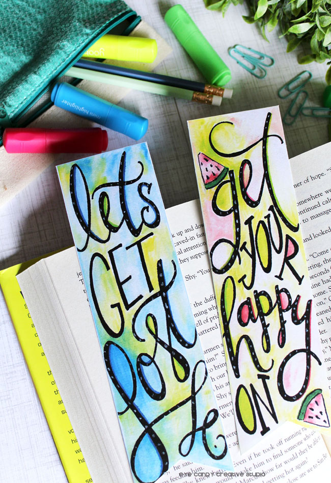 let's read, kids reading, bookclub, free watercolor bookmarks, inspirational
