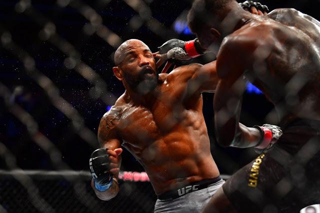 Yoel Romero Israel Adesanya UFC 248