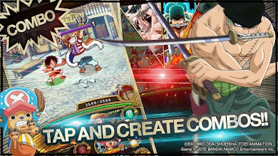 One Piece Treasure Cruise Mod v5.0.0 Apk Terbaru