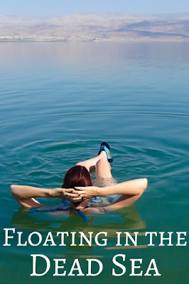 Travel the World: The awesome experience of floating in the Dead Sea in Israel, as well as Dead Sea tips.