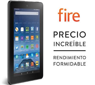 Comprar nuevo tablet Amazon Fire 59 euros