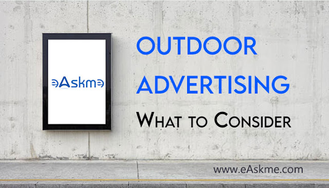 Design for Outdoor Advertising — What to Consider When Creating a Layout?: eAskme: