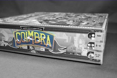 Coimbra boardgame box