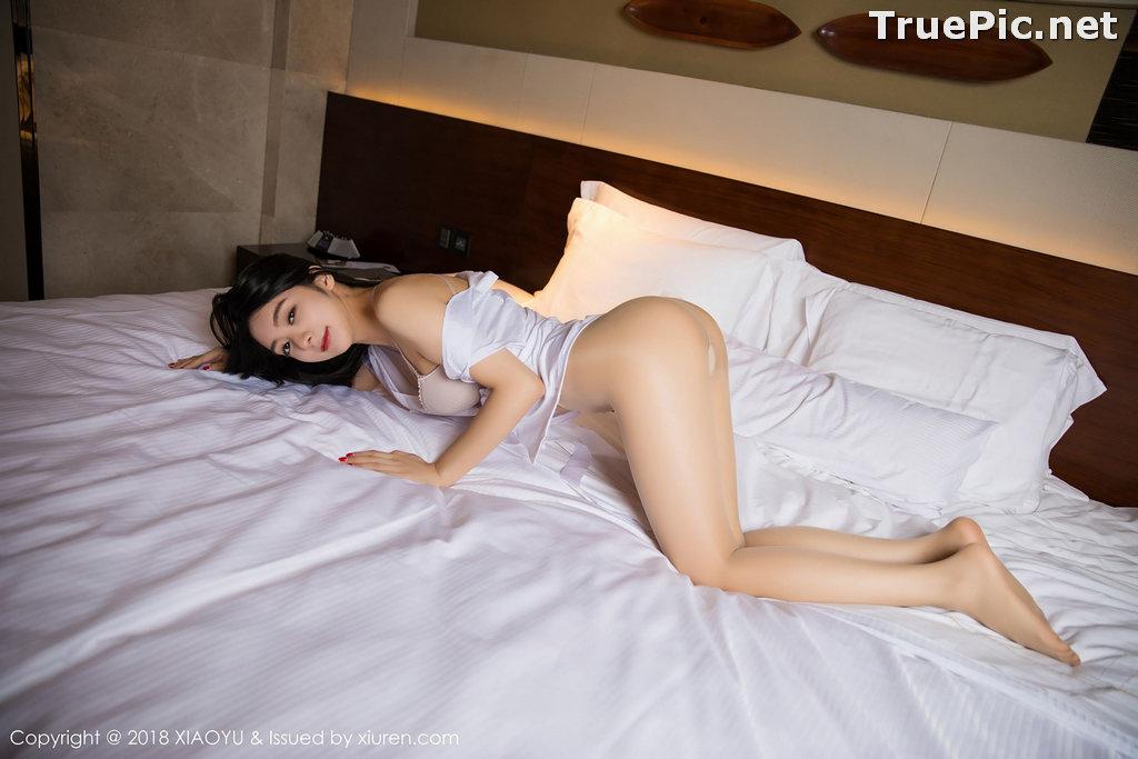 Image XiaoYu No.004 - Chinese Model - Xiao Reba (Angela喜欢猫) - White Sexy Nurse - TruePic.net - Picture-51