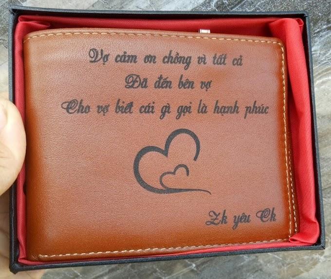ví vàng chỉ nhỏ mẫu tặng chồng
