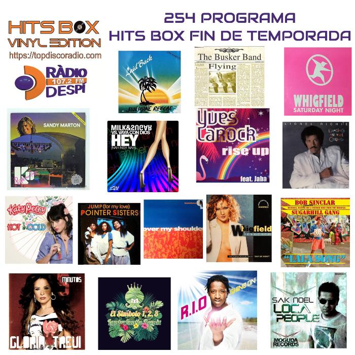 254 Programa Hits Box Especial Fin de Temporada