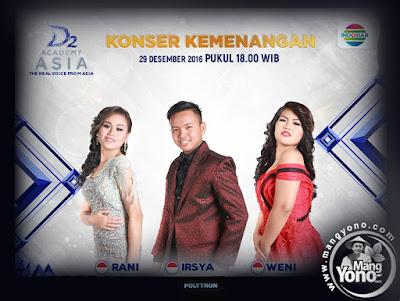 Konser Kemenangan : D'Academy Asia 2 ( DAA 2) Grand Final