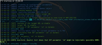 Web Applicatio Penetration Testing Tutorial - Exploiting SQL Injection Attack