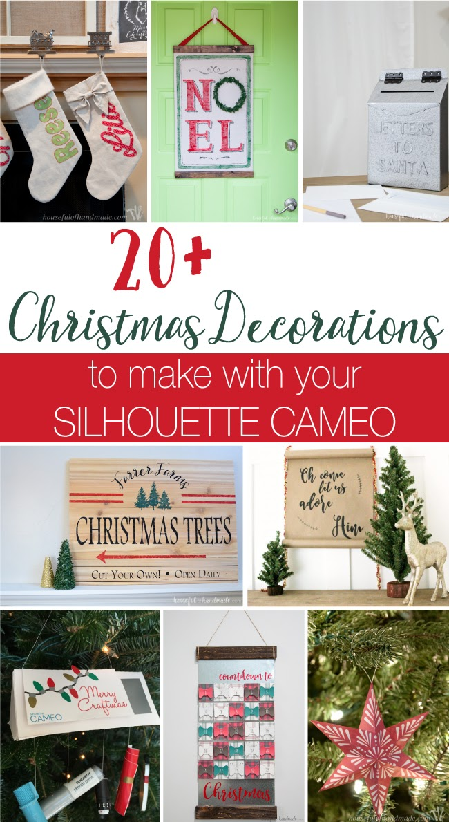 Silhouette cameo christmas, silhouette project ideas, silhouette projects, silhouette cameo projects, silhouette cameo project ideas