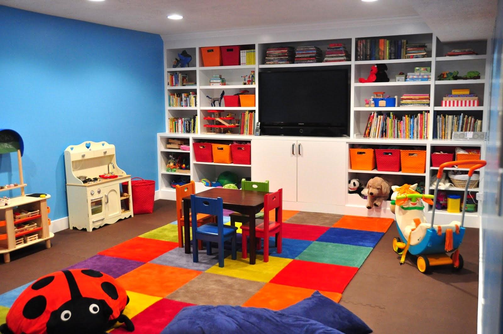 Kumpulan Gambar Kamar Bermain Anak Desain Interior Ruangan Minimalis