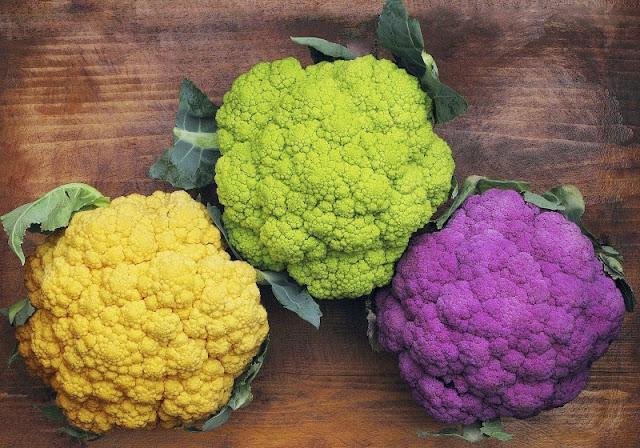 Оранжево-зелено-лиловая капуста, Необычные и удивительные овощи и фрукты