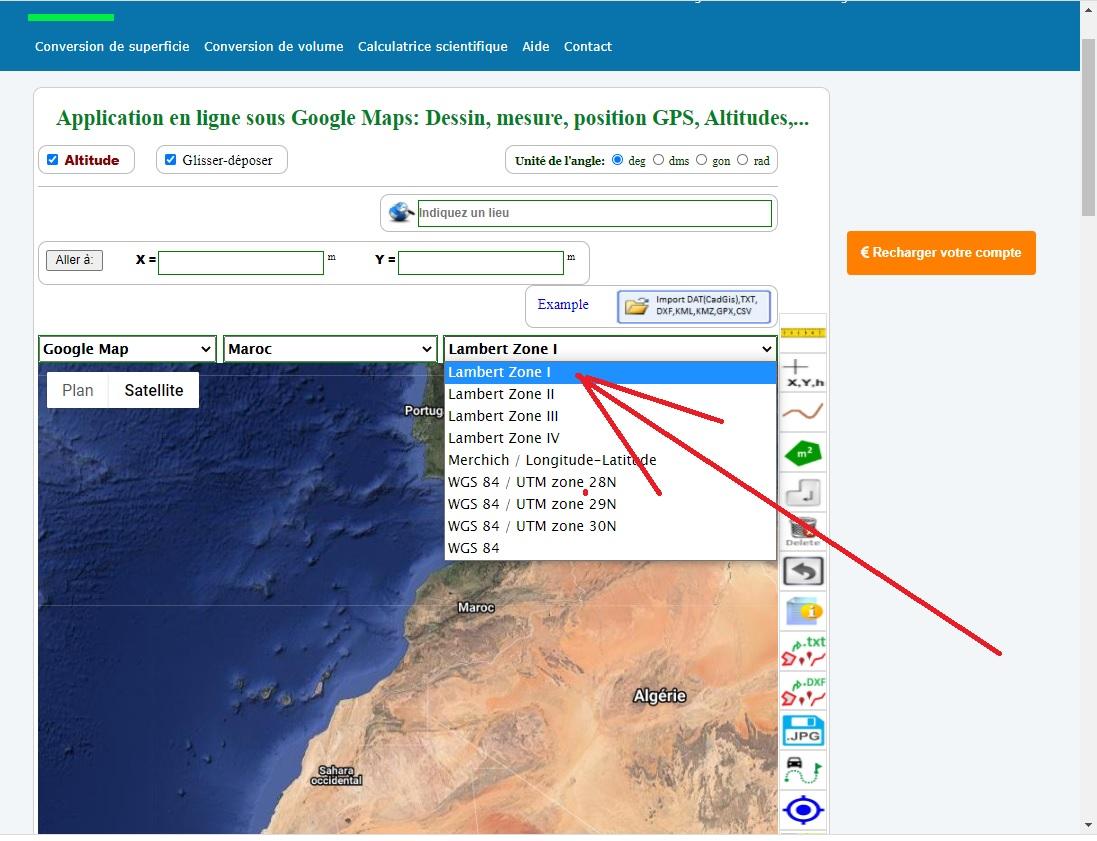 maps avec coordonnées, maps afficher coordonnées, google maps coordonnées d'un point, maps entrer coordonnées,