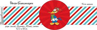 Pájaro Loco: Imprimibles Gratis para Fiestas