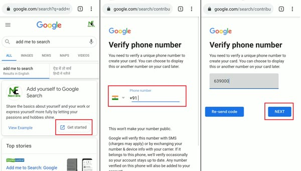 What is Google People Card?