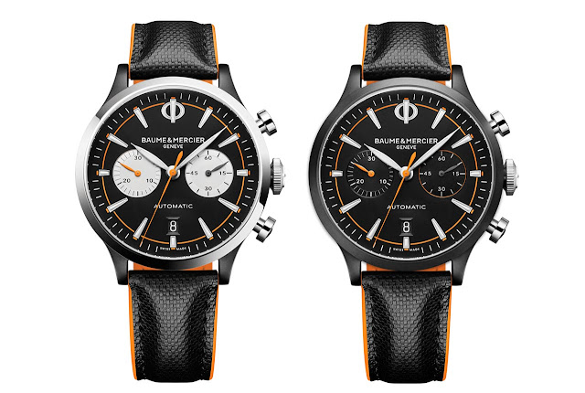 Baume et Mercier Capeland Chronograph 10451 and 10452