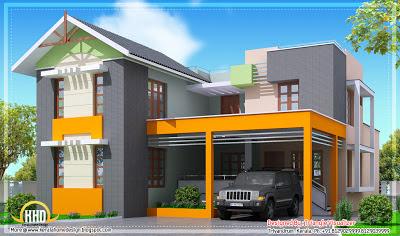 desain rumah minimalis 2 lantai   pt. bekasi raya putra