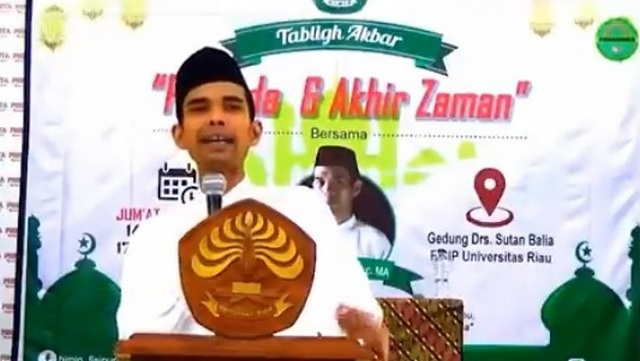 Penting dan Sebarkan! Pesan Ustadz Abdul Somad