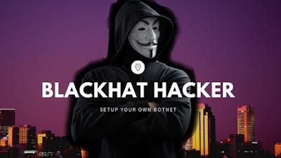 Create a botnet for black hat hacking