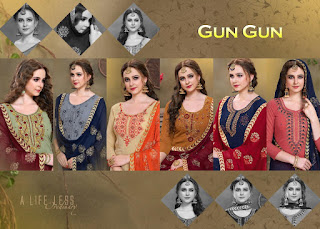 Utsav Suits Gun Gun Branded Salwar kameez wholesale
