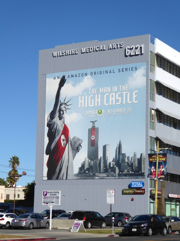 Giant Man in the High Castle series premiere billboard