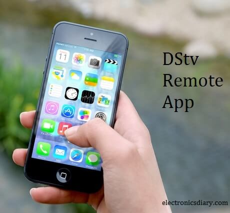 The dstv remote control application